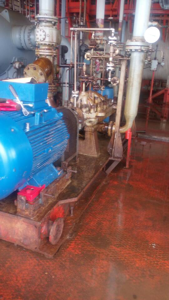 Maintenance and Servicing of Agbara Booster Pump